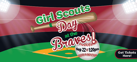 Girl Scout Day at the Braves Sept  22