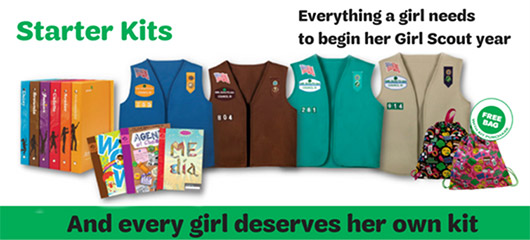 Starter Kits - Everything a Girl Scout Needs